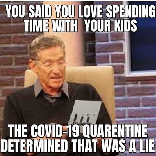 Living With Children In Quarantine