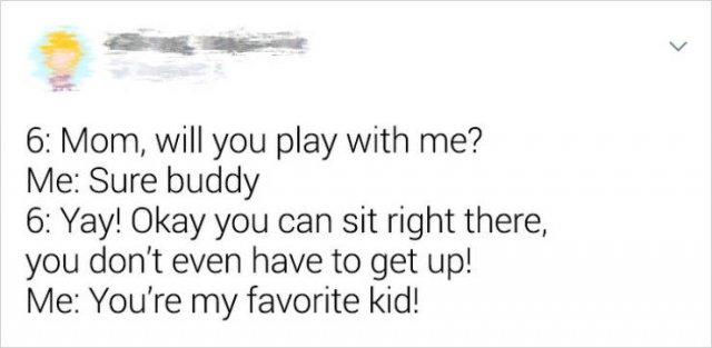 Parents And Children Having Fun