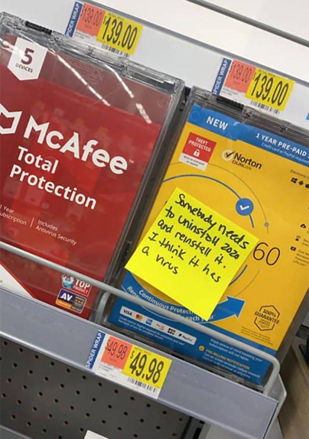 Funny Notes Around Walmart