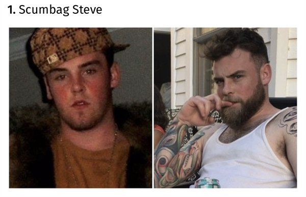 Then And Now: Faces Of Memes