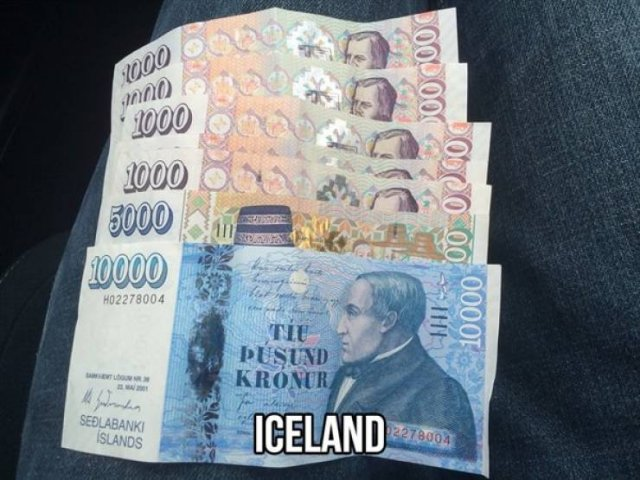 Colorful Currencies From Around The World