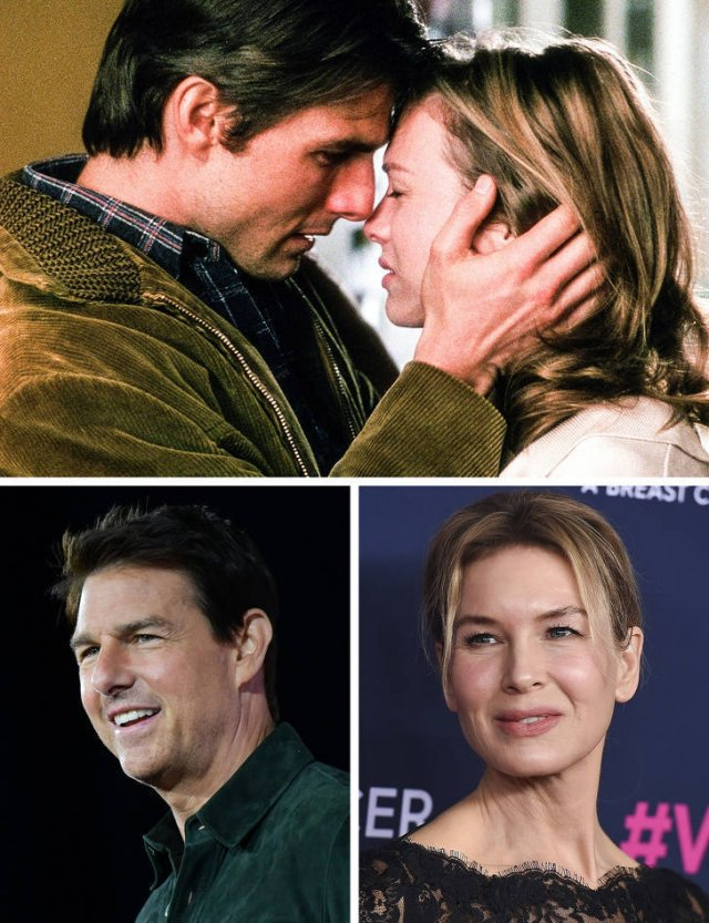 Famous Movie Couples: Then And Now