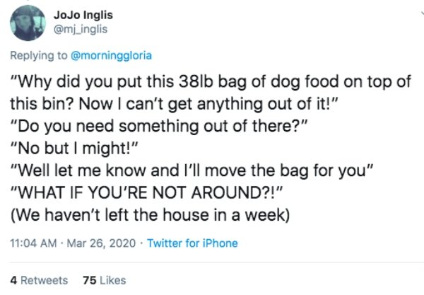 People Share The Dumbest Fights During Quarantine