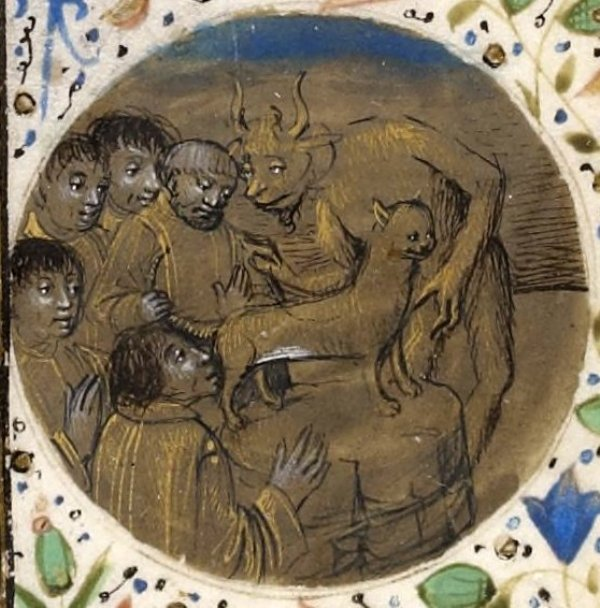 Creepy Medieval Paintings Of Babies And Animals