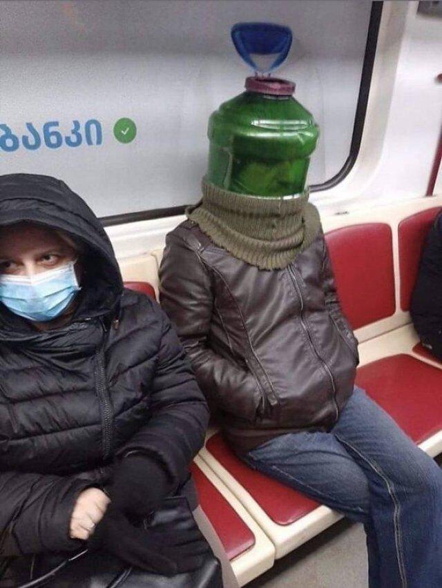 Weird Coronavirus Protection
