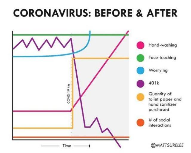 Coronavirus Graphs