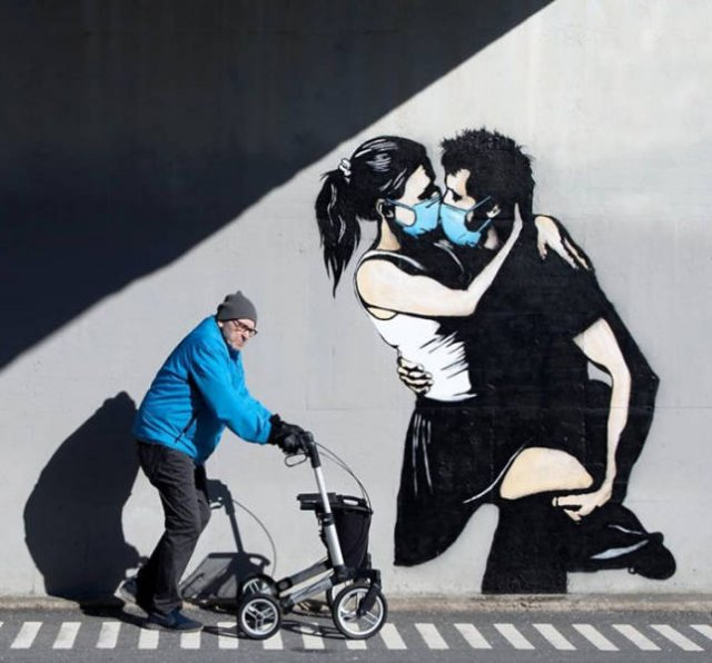 Street Art Inspired By Coronavirus