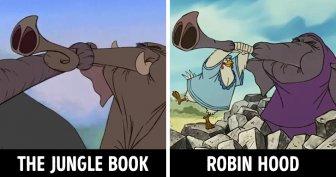 Similar Cartoon Scenes