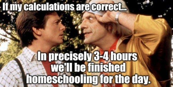 Homeschooling Memes