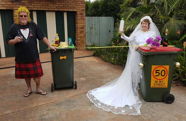 Australians Take Part In Bin Challenge