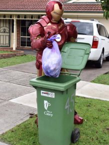 Australians Take Part In Bin Challenge