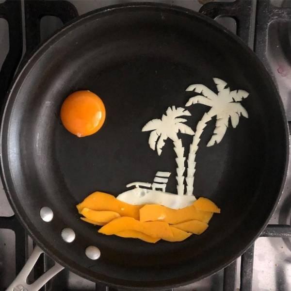 Egg Works By Michele Baldini
