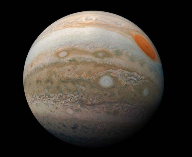 NASA Jupiter Photos By Juno Spacecraft