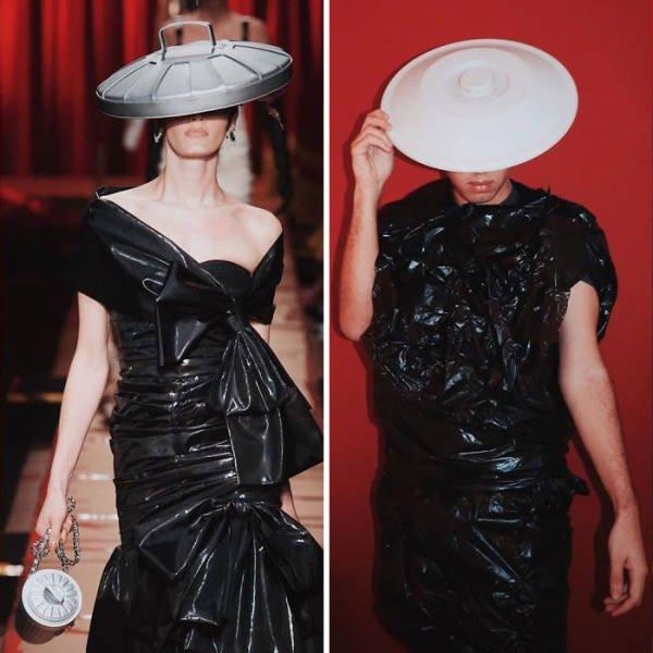 Quarantine High Fashion