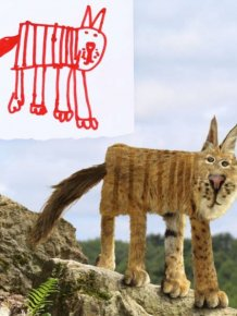 Dad Turns His Son's Doodles Into Art