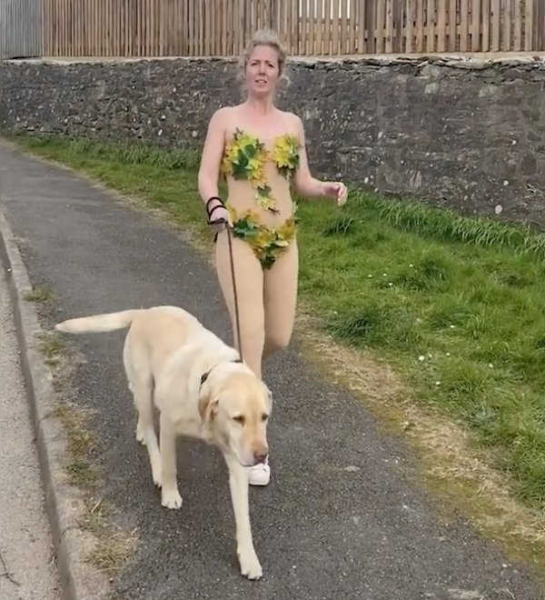 Hilarious Dog-Walking Costumes By Clare Meardon