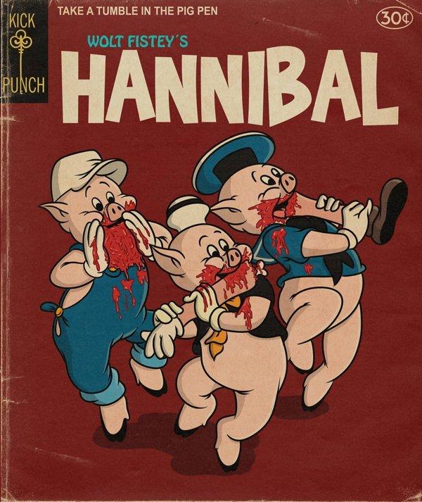 Horror Disney Characters By Daniel Björk