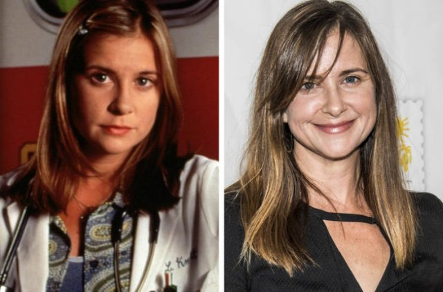 """""""ER"""" Series Cast: Then And Now"""