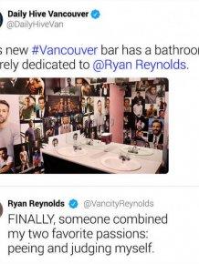 Ryan Reynolds Responds To Random Tweets