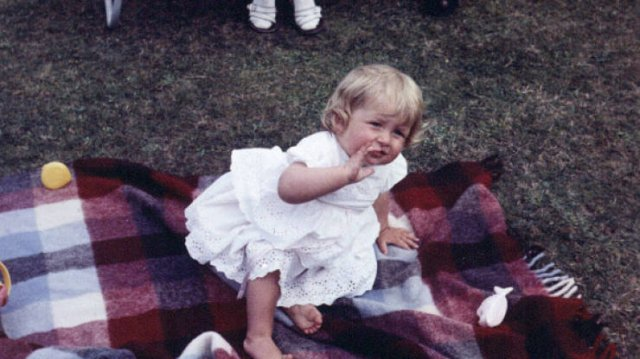 Childhood Photos Of Princess Diana