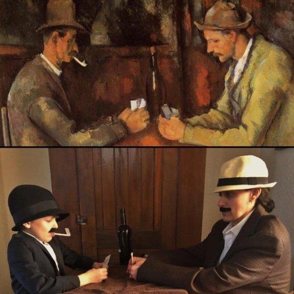 Painting Recreation Challenge