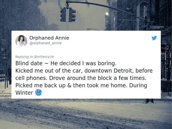 People Share Memories About Their Worst Dates