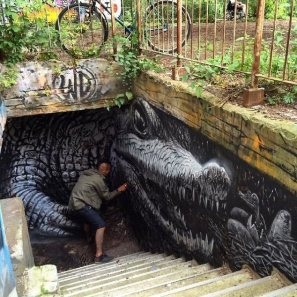 Amazing Street Art, part 8