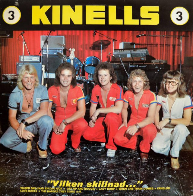 Album Covers Of Swedish Bands From 1970s