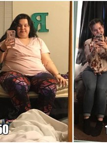 People Share Their Weight Loss Pictures