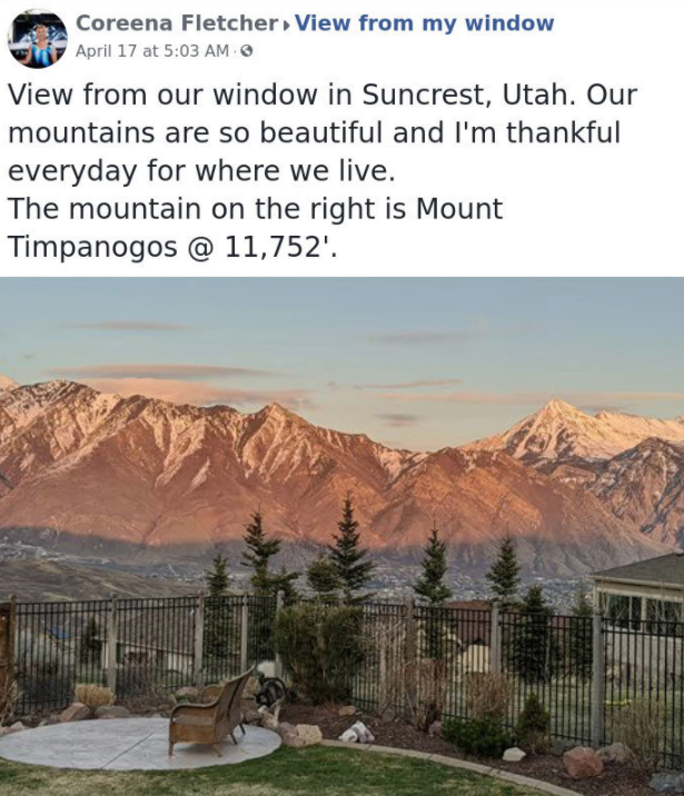 People Show Views From Their Windows