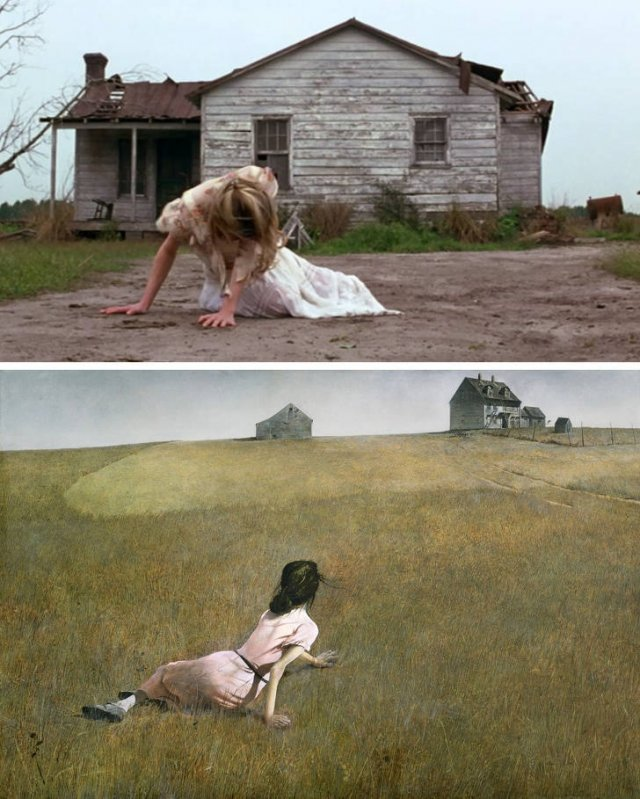 Movie Scenes Inspired By Art