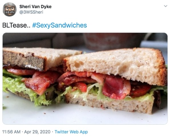 #SexySandwiches Challenge