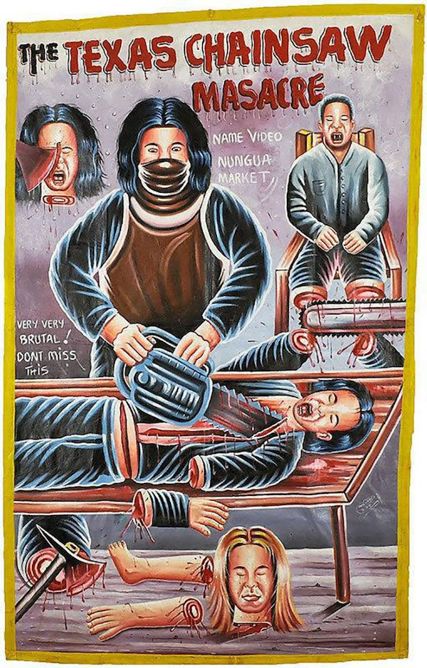 Ghana Vintage Movie Posters