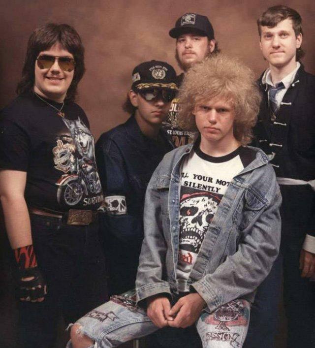 Weird Bands Posing Photos