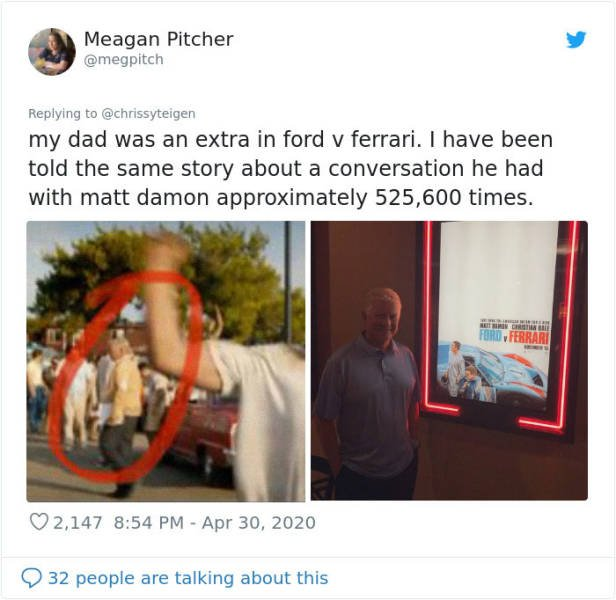 People Share Their Minute Of Fame
