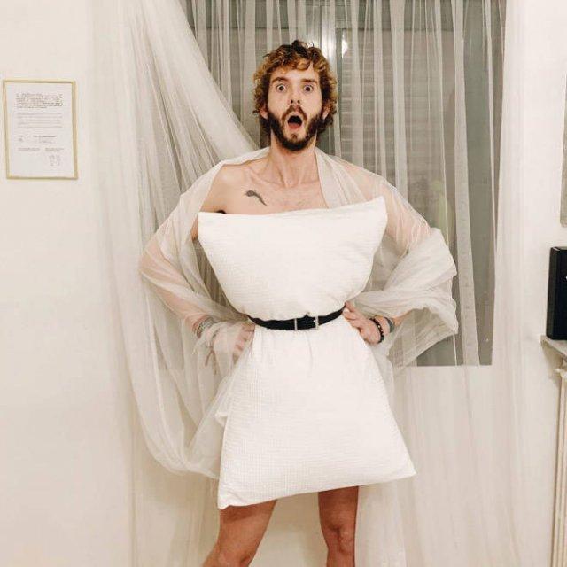 Pillow Dress Challenge