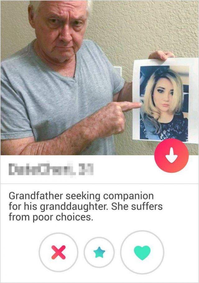 Weird Dating Profiles