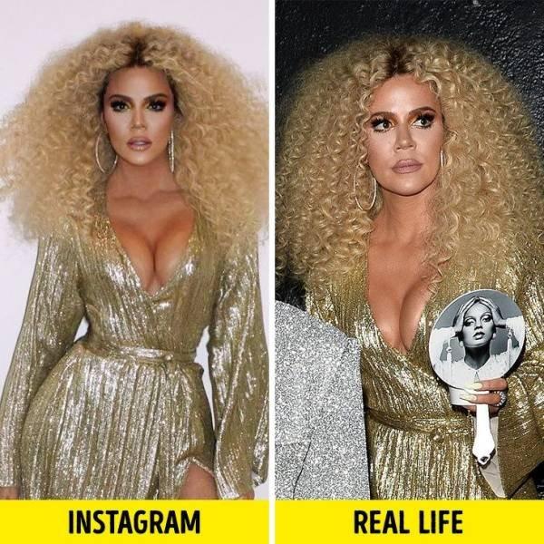 Celebrities: Instagram Vs. Real Life