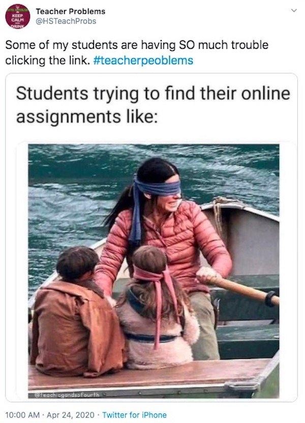 Teacher Problems On Quarantine
