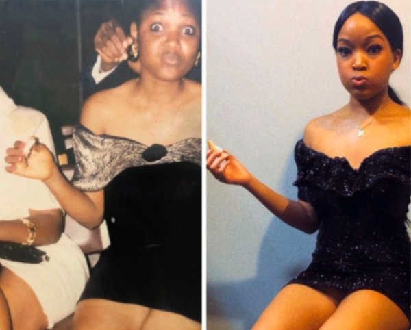 Women Recreating Their Mothers Old Photos
