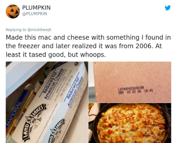 People Share Photos Of Expired Food Found In Their Houses