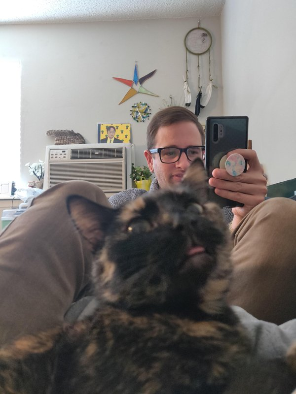 Selfies With Pets