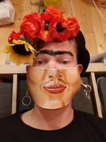Quarantine Face Masks By Matthias Kretschmer