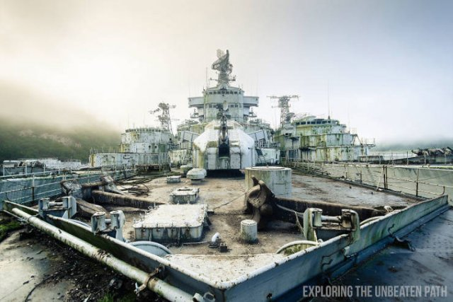 Inside The Decommissioned Warships