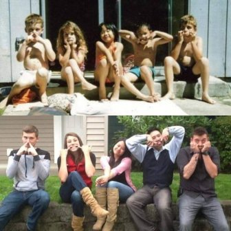 Childhood Photo Recreations