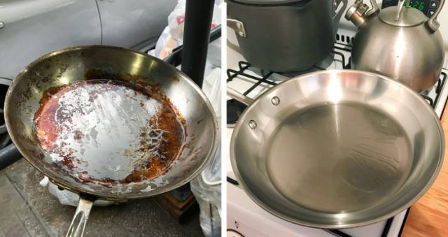 Things Before And After Cleaning