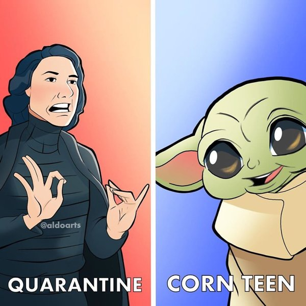 Disney Characters During Pandemic