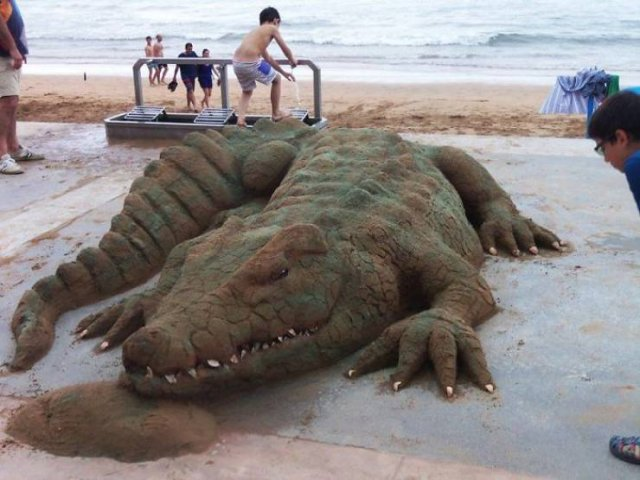 Sand Sculptures By Andoni Bastarrika