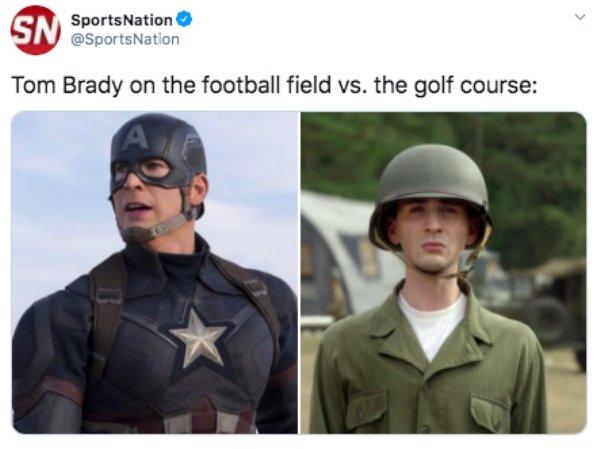Tom Brady Golf Memes