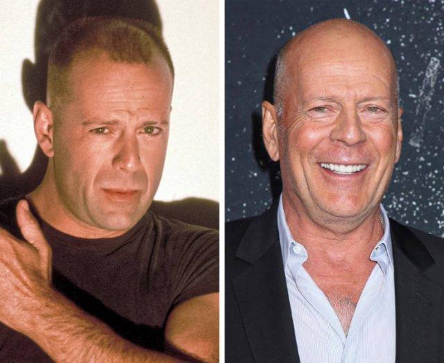 '90s Men Celebrities: Then And Now